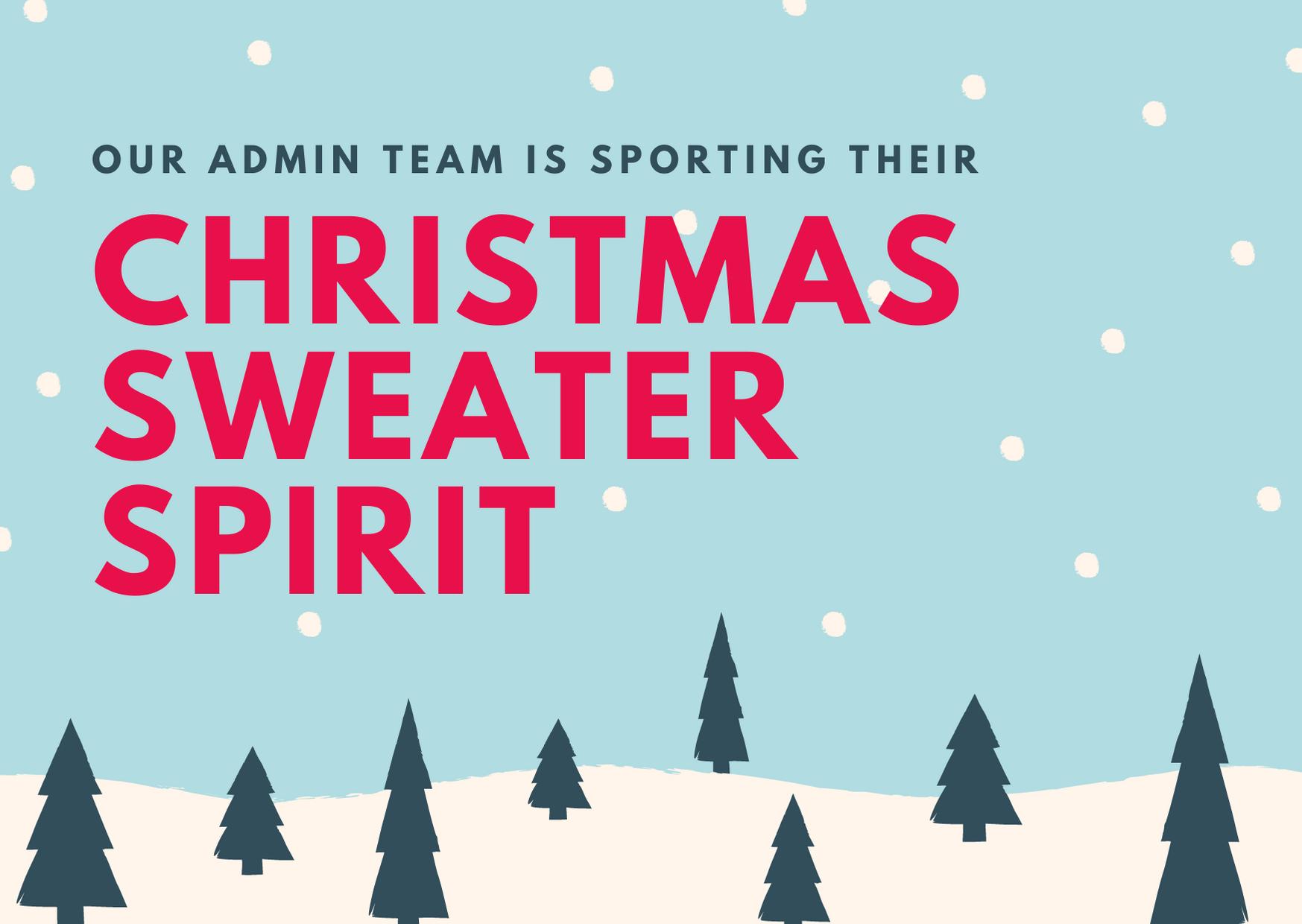 Christmas Sweater Spirit