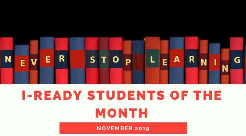 Nov. i-Ready Students