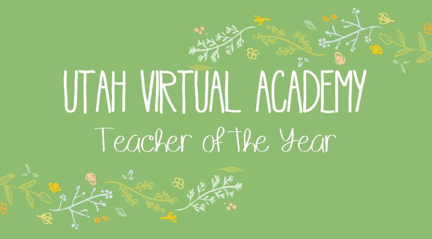 UTVA teachers of the year!